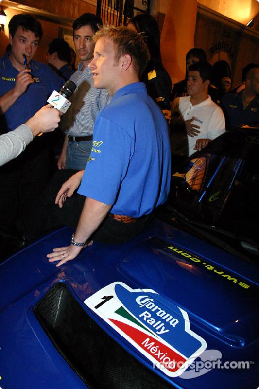 Évènement média Subaru : Petter Solberg