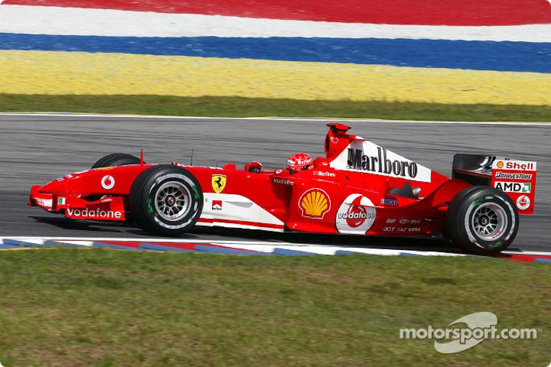 2004 : Michael Schumacher, Ferrari F2004