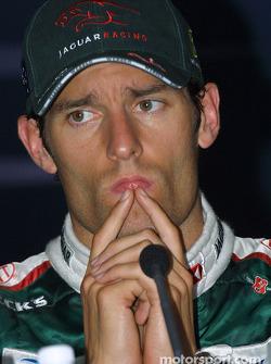 Press conference: Mark Webber