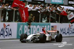 3. finish for Jenson Button