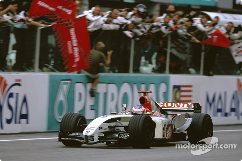 2004: Primeiro pódio de Button