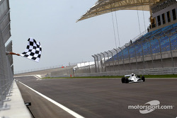 Vintage Williams FW08 around the Bahrain International Circuit
