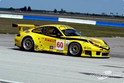 #60 P.K. Sport Porsche 911 GT3RS: Robin Liddell, Peter Boss, Hugh Plumb