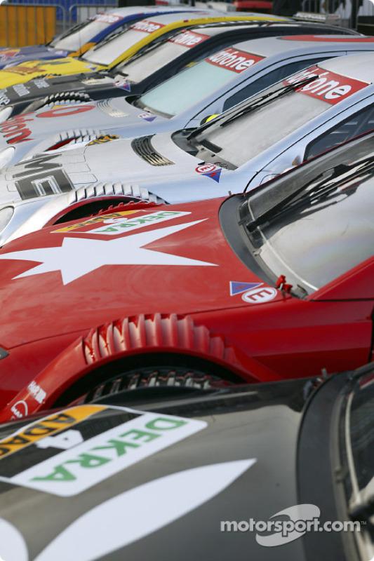 Die DTM-Autos 2004