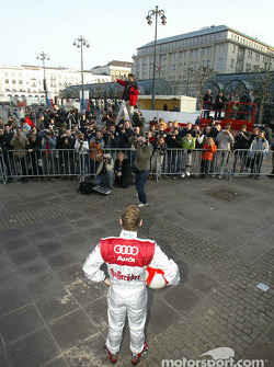 Tom Kristensen during the photo shooting