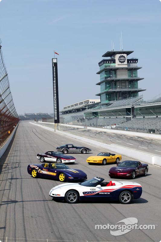 Le Pace Car de l'Indianapolis 500 2004, Corvette Cabriolet