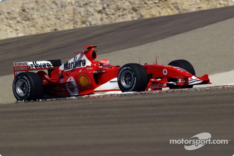 Гонщики Ferrari выигрывали в Бахрейне 5 раз