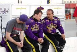 Ryan Newman and Danny Lasoski talk it over