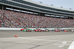 Bobby Labonte brings them to the line