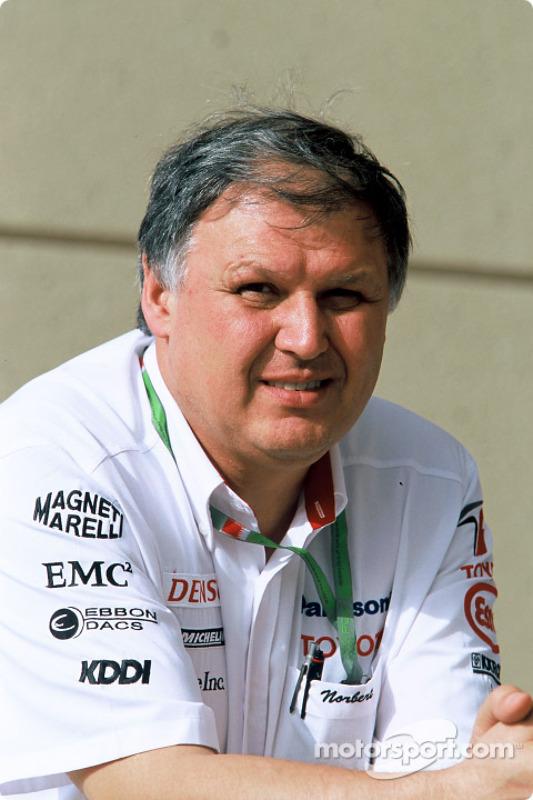 Toyota general manager Norbert Kreyer
