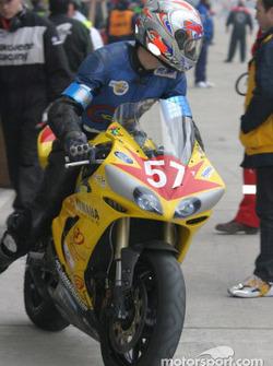 #57 Team Moto LTG Yamaha R1: Olivier Devise, Herve Gilly, Cyril Huvier