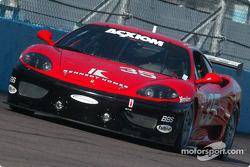 La Ferrari 360 Challenge n°35 de la Scuderia Ferrari of Washington (Thomas Jermoluk, Dan Kennedy)