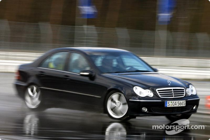 Bernd Schneider tests the AMG-Mercedes