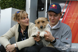 Mattias Ekström mit Freundin Tina