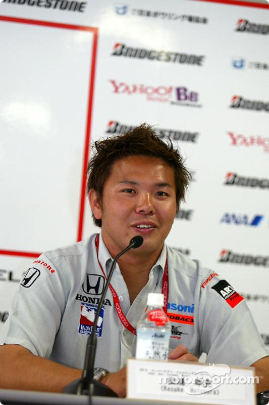 Conférence de presse : Kosuke Matsuura