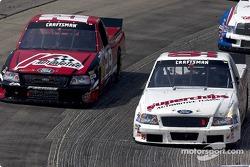 Carl Edwards and Brad Keselowski
