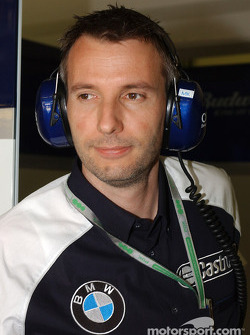 BMW head of engine testing Matthias Klietz