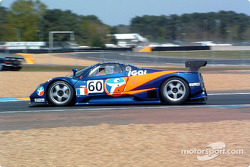 #60 Force One Racing Pagani Zonda: David Hallyday, Anthony Kumpen