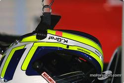 Klaus Graf's helmet