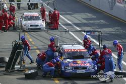 Boxenstopp-Training: Martin Tomczyk, Team Abt Sportsline, Audi A4 DTM 2004