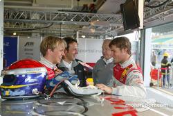 Mattias Ekström, Team Abt Sportsline, Audi A4 DTM 2004; Martin Tomczyk, Team Abt Sportsline, Audi A4 DTM 2004