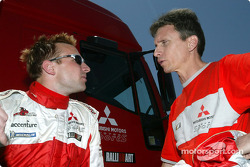 Kristian Sohlberg and Gilles Panizzi