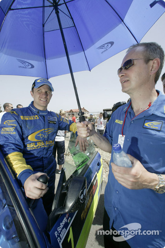Petter Solberg et David Lapworth