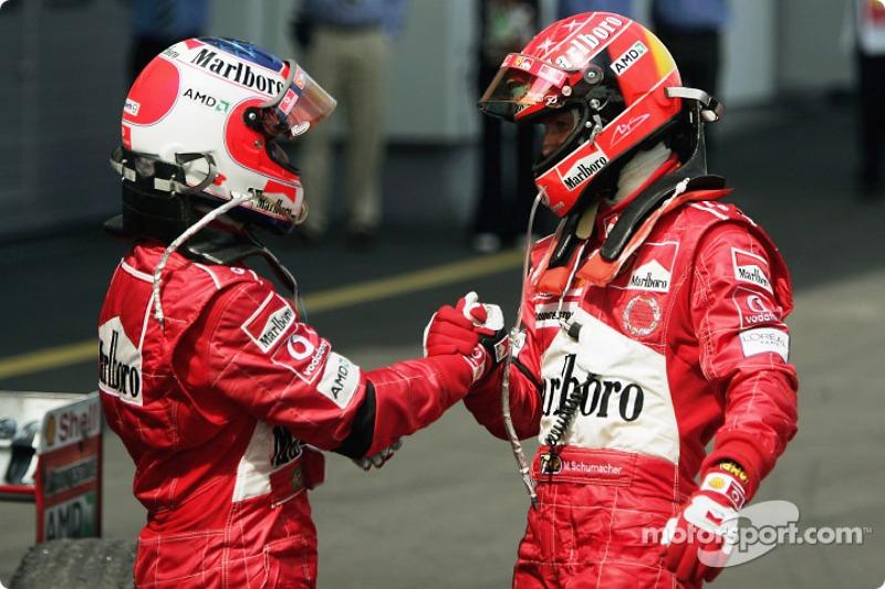 2004 Avrupa GP, Ferrari F2004