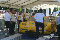 Corvette Racing Corvette C5-R goes to stage 1
