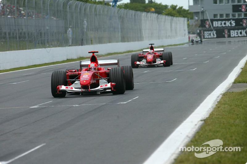 Nadie lideró tanto como Schumacher
