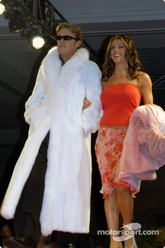 Buddy Rice and girlfriend Michelle Noonan