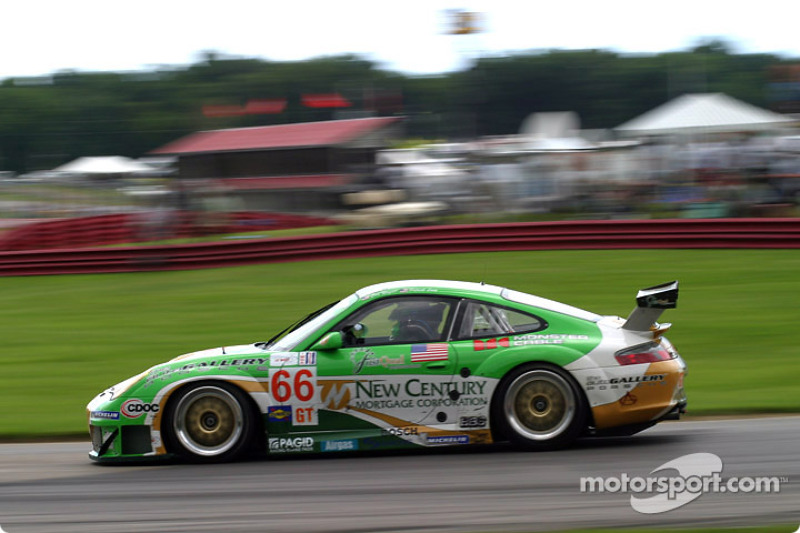 Prime Motor Group >> #66 The Racers Group Porsche 911 GT3 RS: Patrick Long, Cort Wagner at Mid-Ohio