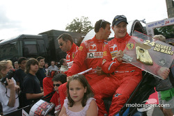 Alain Menu, Peter Kox and Tomas Enge