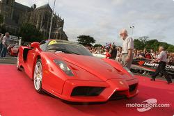 Exotic cars parade: Ferrari Enzo