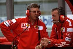 Ross Brawn and Nigel Stepney