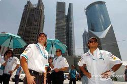 Neel Jani and Felipe Massa