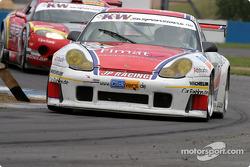 La Porsche 996 GT3 RS n°59 de Jens Petersen (Jens Petersen, Oliver Mathai, Jan-Dirk Lueders)