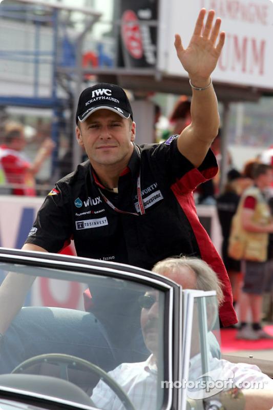 Parade des pilotes : Gianmaria Bruni