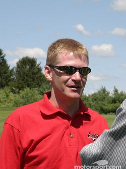 Brickyard 400 driver golf outing: Jeff Burton