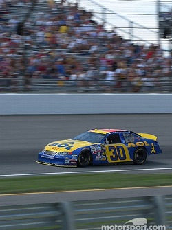 #30 Dave Blaney qualifies for the Brickyard 400