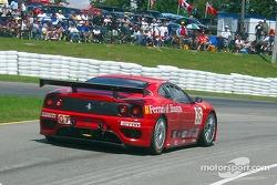 #35 Risi Competizione Ferrari 360 GTC: Ralf Kelleners, Anthony Lazzaro