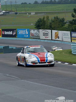 #04 Grease Monkey Racing Porsche GT3 Cup: Gene Sigal, Harrison Brix