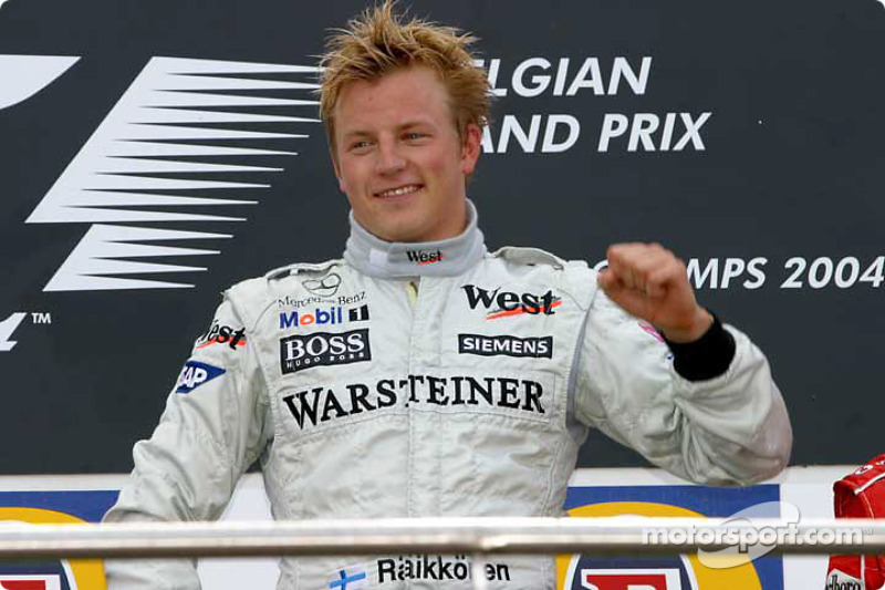 5 – Гран Прі Бельгії 2004: Кімі знімає з McLaren прокляття