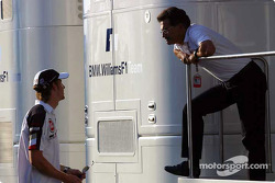 Jenson Button and Dr Mario Theissen