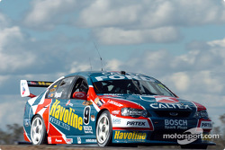 Russell Ingall during qualifying