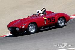#55 1955 Ferrari 857S, Greg Chamandy