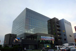 The Tokachi Plaza in Obihiro, headquarters for Rally Japan
