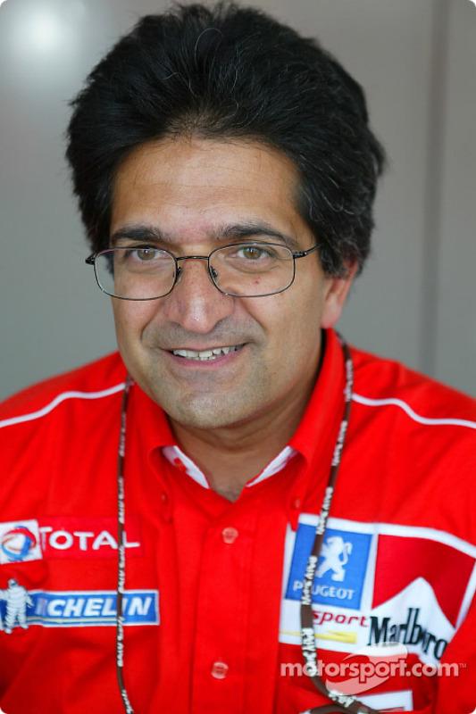 Michel Nandan de Peugeot