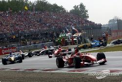 Rubens Barrichello lidera el grupo