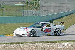 #46 Michael Baughman Racing Corvette: Mike Yeakle